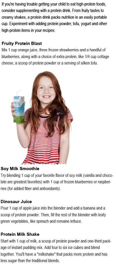 Protein drinks for kids