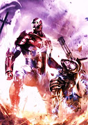 Iron Patriot es puro patriotismo (iron patriot vs war machine by wolf )