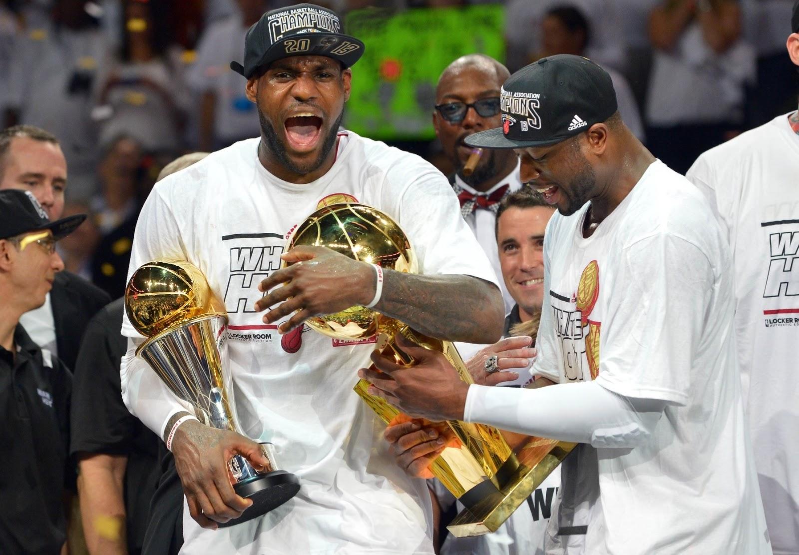BADBOYS DELUXE: MIAMI HEAT WINS NBA FINALS AGAINST SAN ANTONIO SPURS