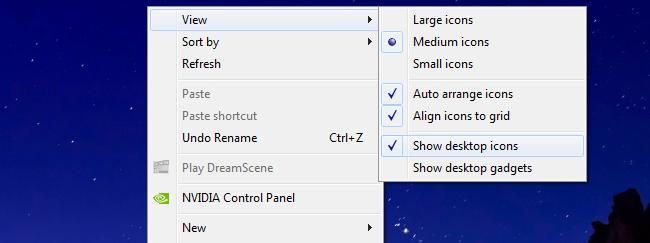 Cara Mudah Menyembunyikan Shortcut dan Icon di Dekstop
