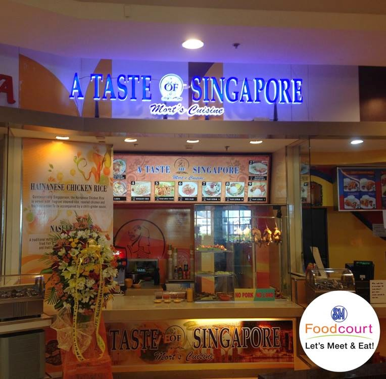 A Taste of Singapore now open at SM General Santos!