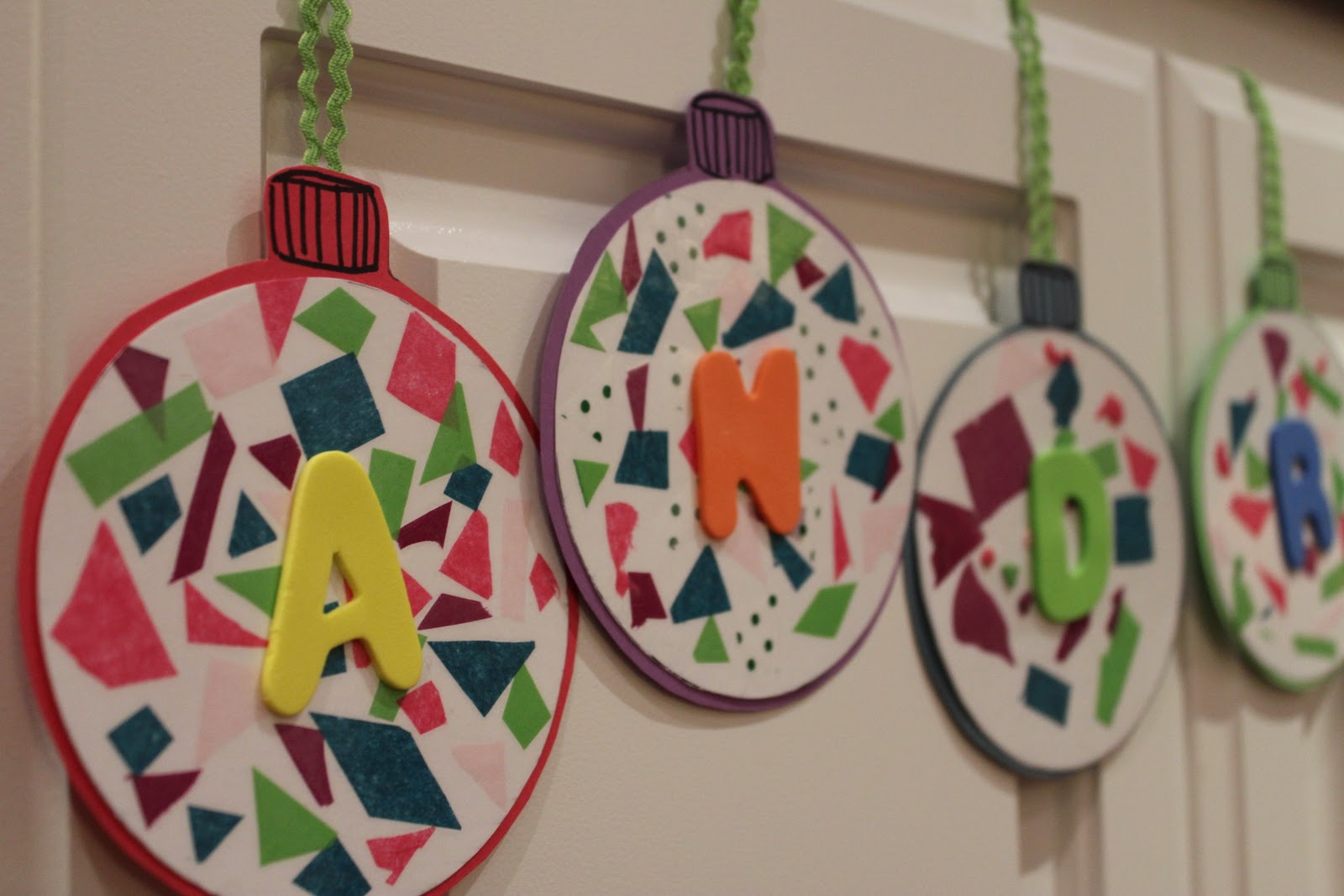 Paper christmas ornaments for toddlers - Paper Christmas Ornaments For Toddlers