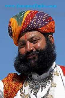 Marwad or Marwar Rajasthani man photo