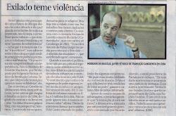 Entrevista en el Correio Braziliense