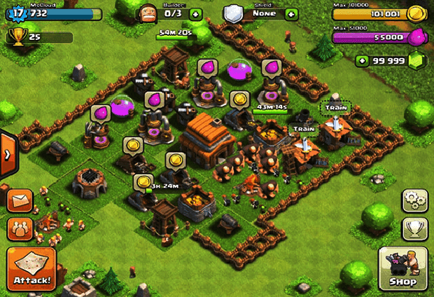 hack game clash of clans free