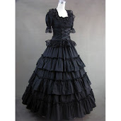 The Death Mourning Dress