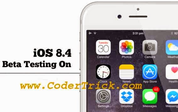 iOS 8.4 first beta 1 releases by Apple IPhone [Hot News]
