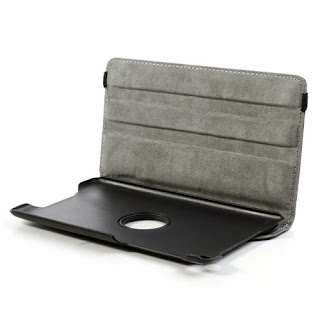 360 Degree Rotary Stand Leather Case Cover for Asus Google Nexus 7(2013) II 2nd Generation - Black