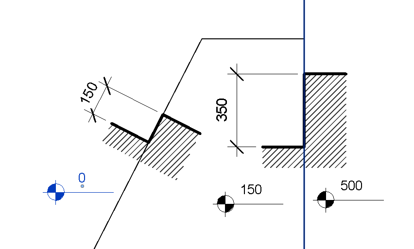 Floor Elevation Changes : Symbol for change in elevation floor plans pictures to