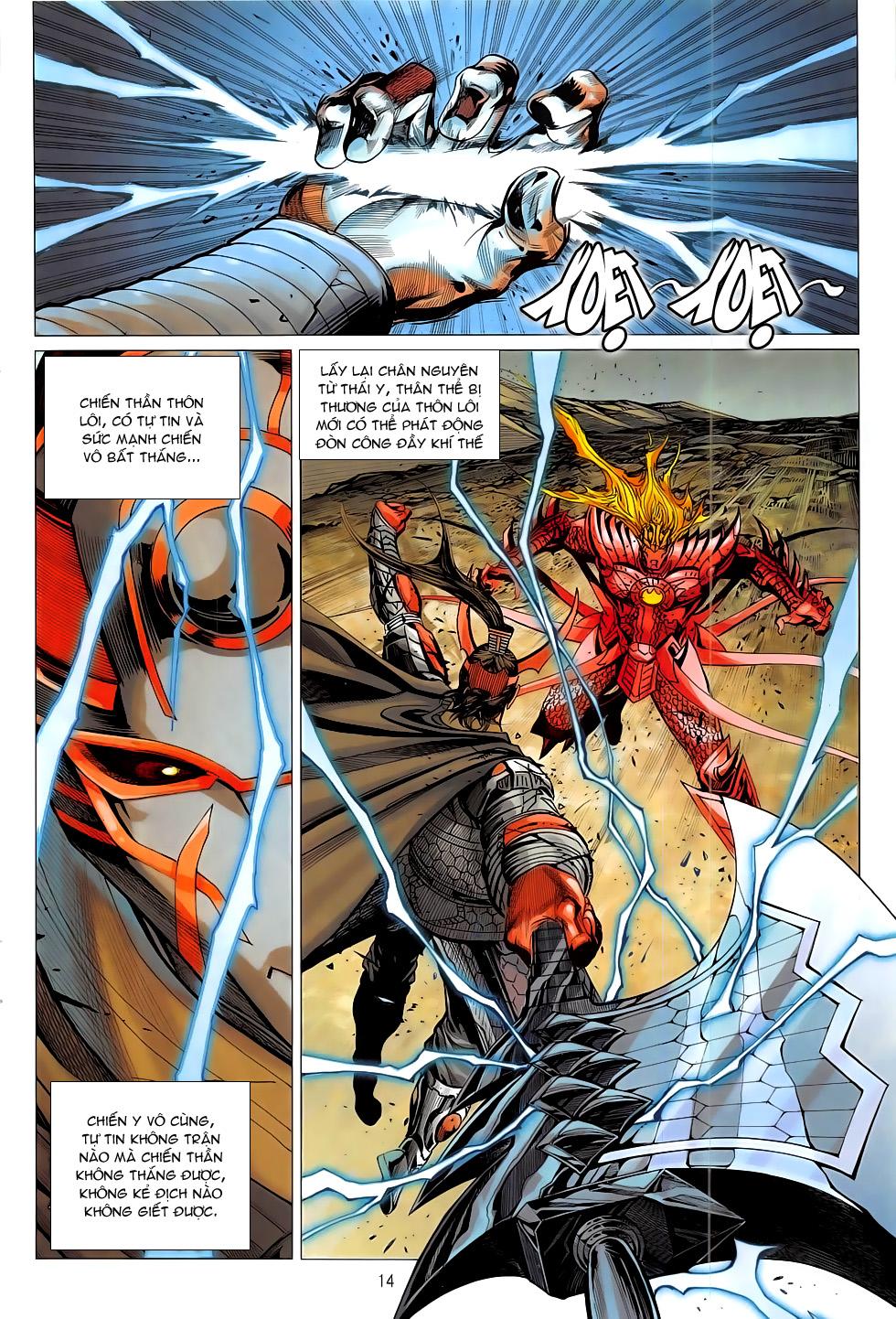 Chiến Phổ chap 19 - Trang 14