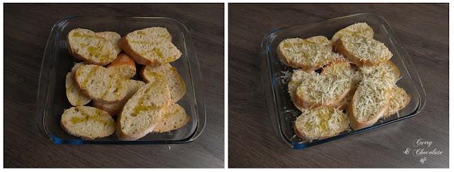 Pan con queso, aceite de oliva y orégano – Bread with cheese, olive oil and oregan