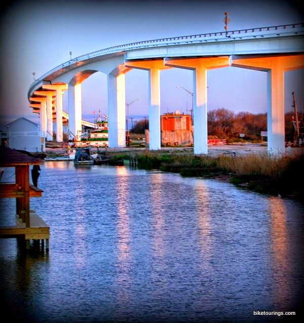 Matagorda Bridge over Colorado River