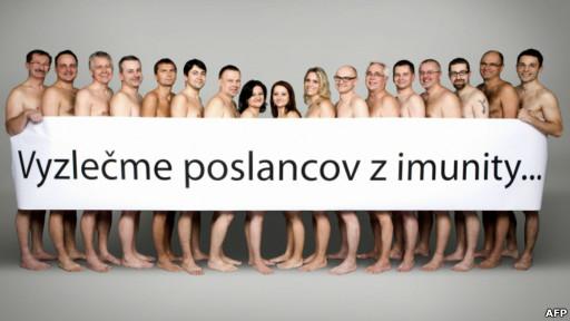 17 anggota dpr slovakia foto bugil bersama-sama [gila!!]