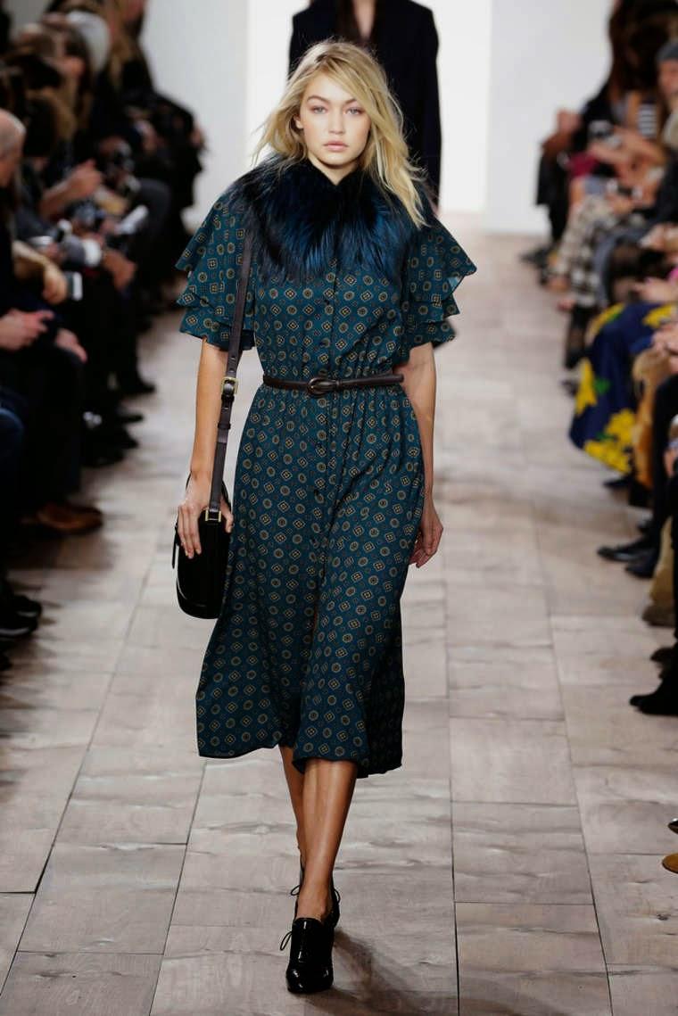 Gigi Hadid – Michael Kors Fashion Show in NYC