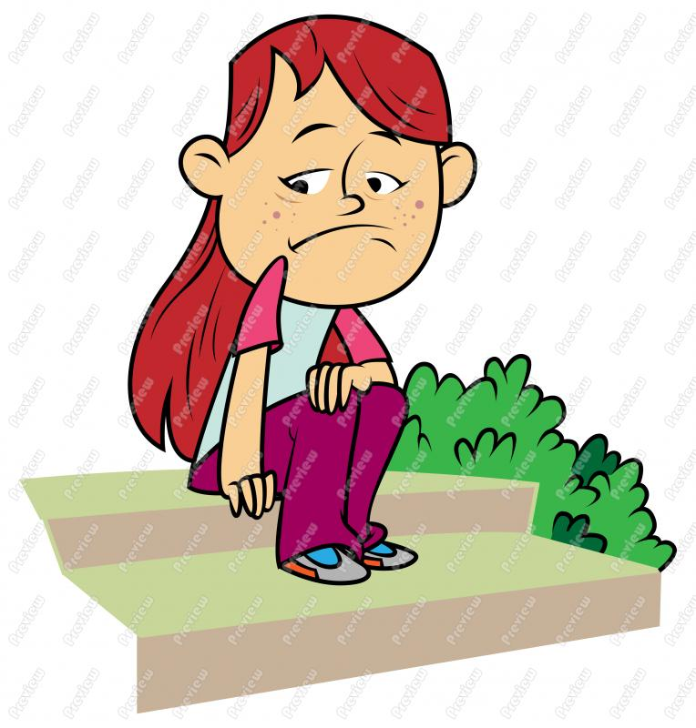 Sad Girl Child  Clip Art Cartoon jpgSad Little Girl Clipart