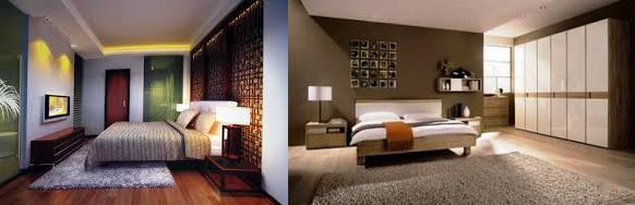 Consejos para dormitorios con piso de madera decoracion for Dormitorio oscuro decoracion