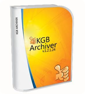COMPRESS 1GB TO 10MB with KGB archiver
