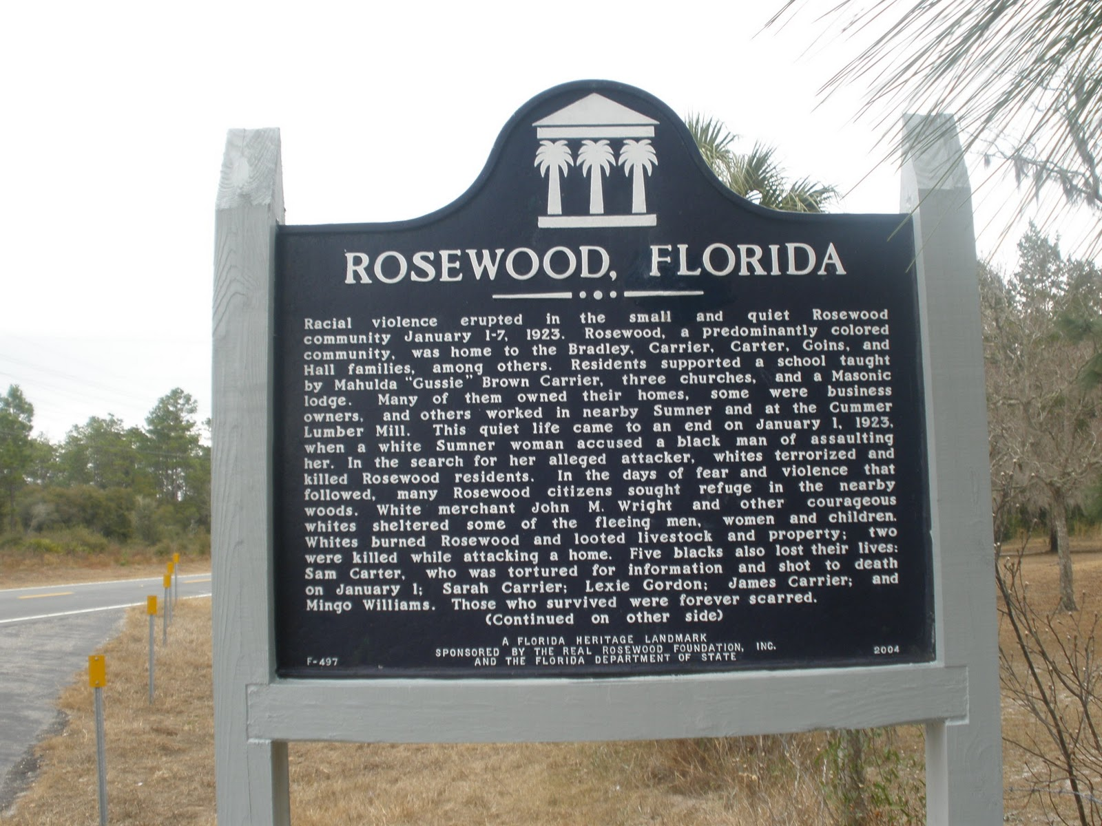 rosewood black people and john wright essay Many black people weren't the film rosewood is a dramatization of the true story of the rosewood massacre that ceo john scott's recommendation to rosewood.