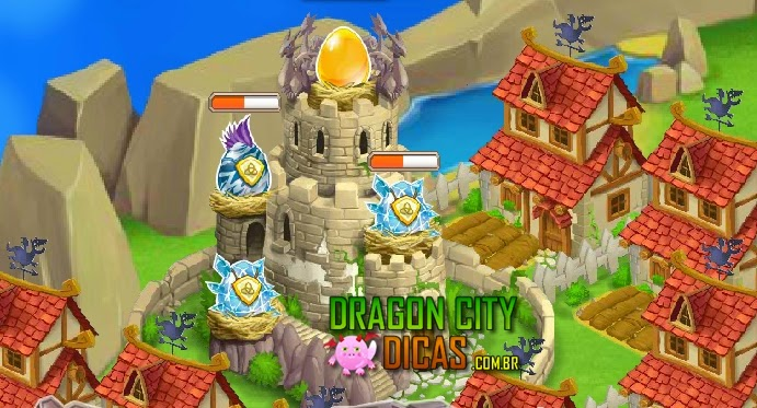 Tempo para os Ovos Chocarem no Dragon City
