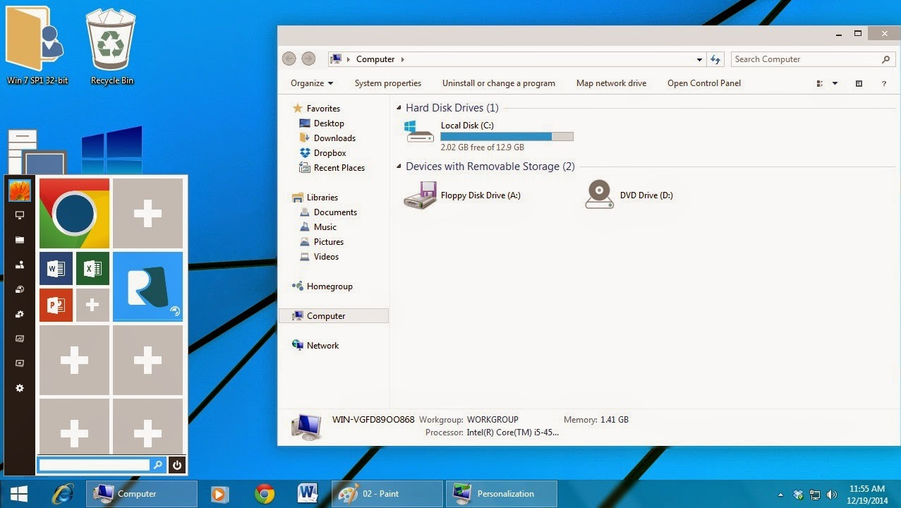 Descargar Windows 10 tema