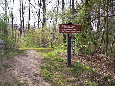 Image of trailhead for the Lakeview Trail