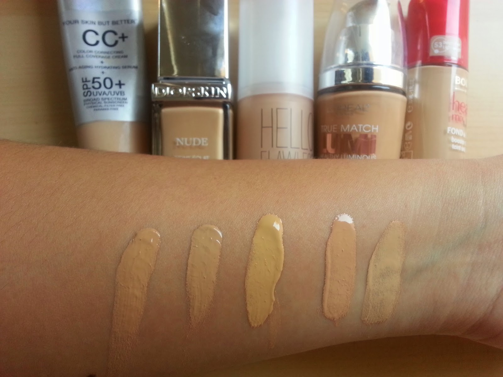 How to Fake Flawless Skin pics