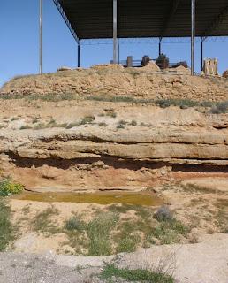 Contrebia Belaisca, yacimiento arqueológico de la ciudad celtíbera en Botorrita