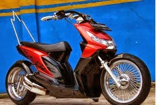 modification honda beat 2