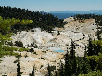 Bumpass Hell en Lassen Volcanic Park
