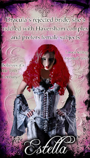 Estella from joanne kenrick's tales from the coffin - vampire and zombie fiction with decadent publishing
