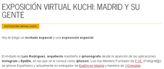 "Virtual exhibition ""MADRID Y SU GENTE"""
