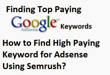 How to Find High Paying Keyword for Adsense Using Semrush?