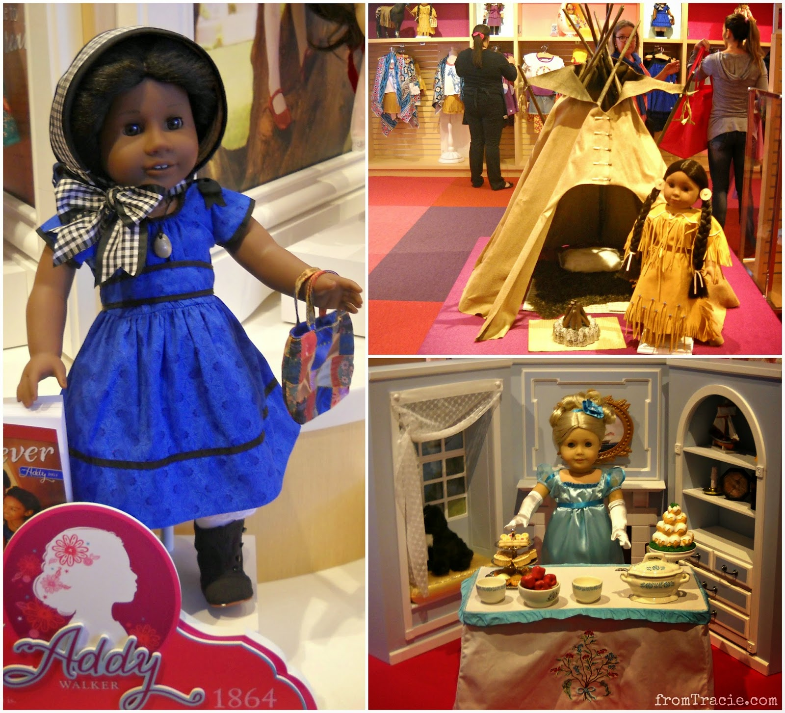Addy, Kaja, and Caroline | American Girl Doll