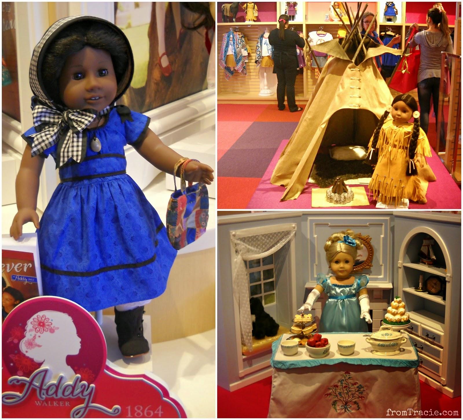 Addy, Kaja, and Caroline | American Girl Doll