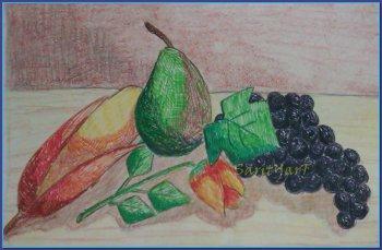Frutas con grafismo