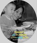 AMMAR'S 1st Birthday Giveaway