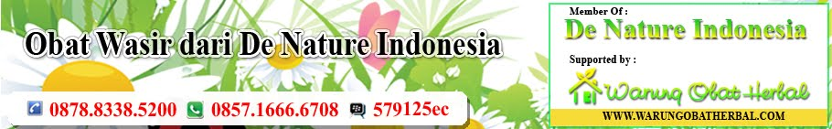 obat wasir dari denature indonesia