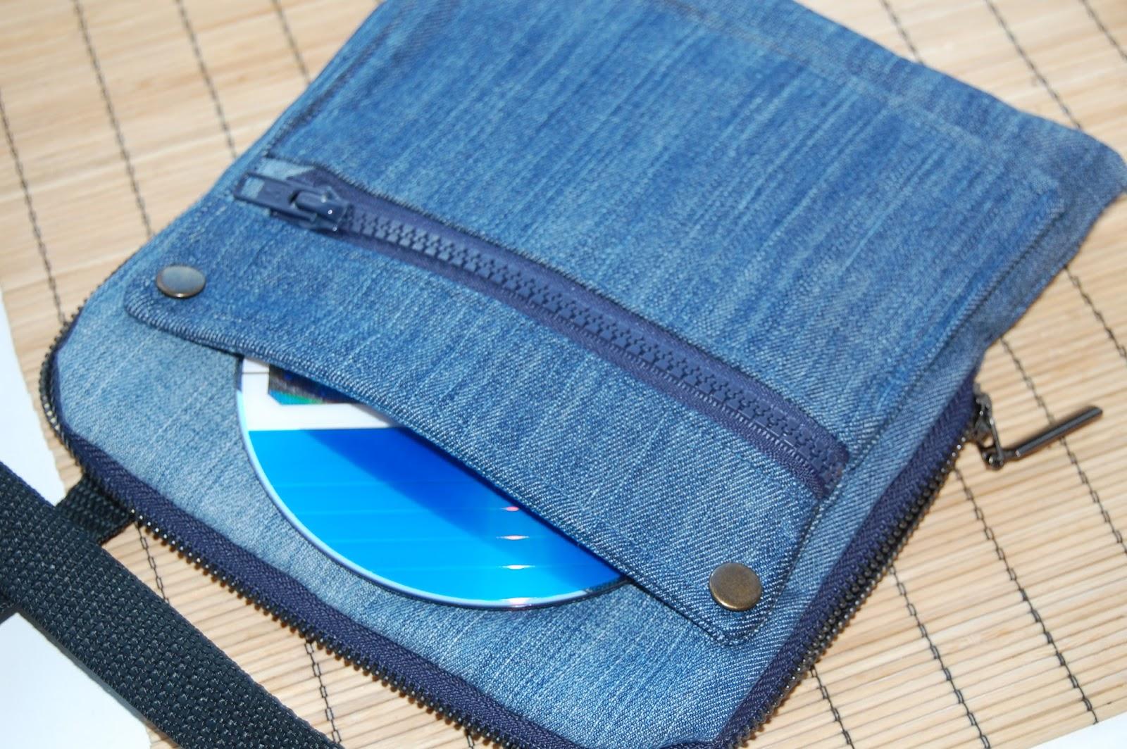 Сшить кошелек из джинсов своими руками