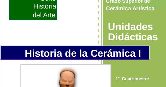 El arte es otra historia apuntes para historia de la for Origen de la ceramica