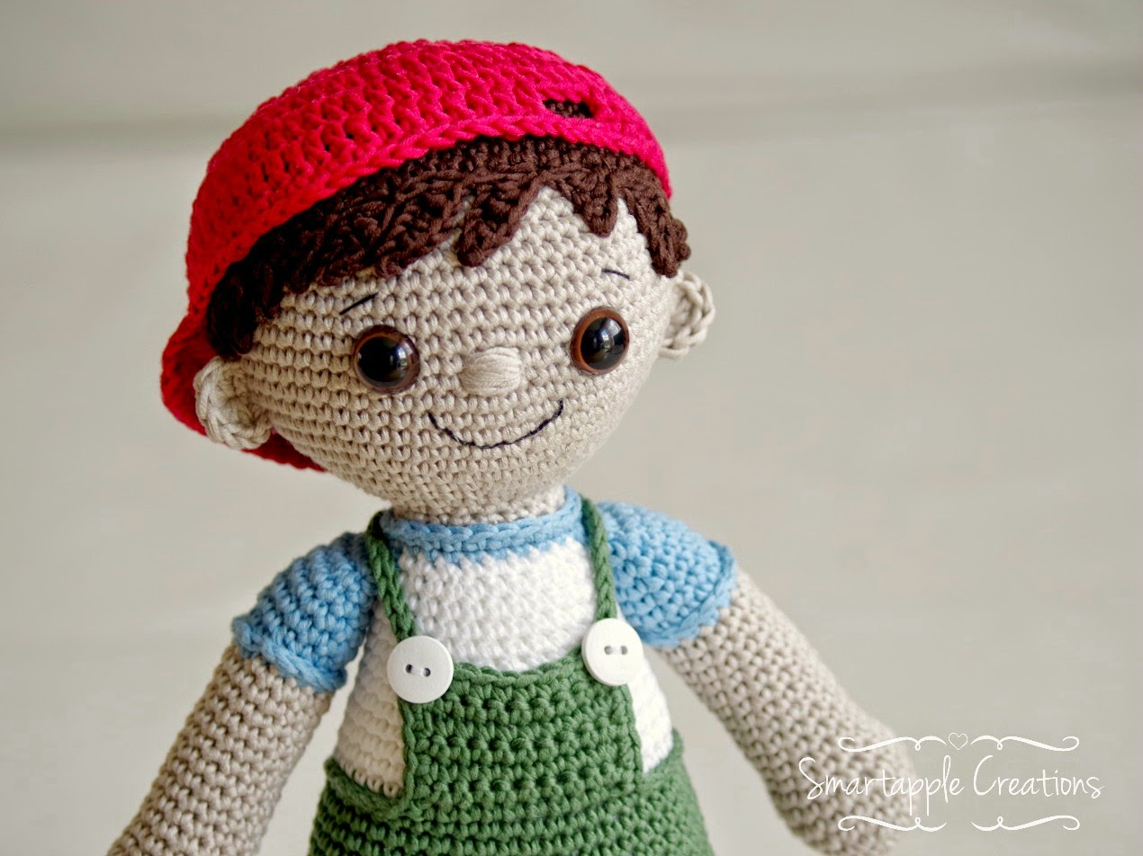 Free Amigurumi Boy Doll Patterns : Smartapple Creations - amigurumi and crochet: New pattern ...