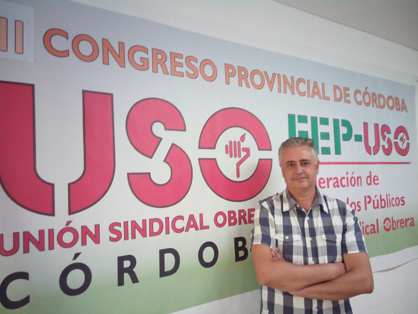Bienvenida del Secretario General FEP-USO Córdoba.