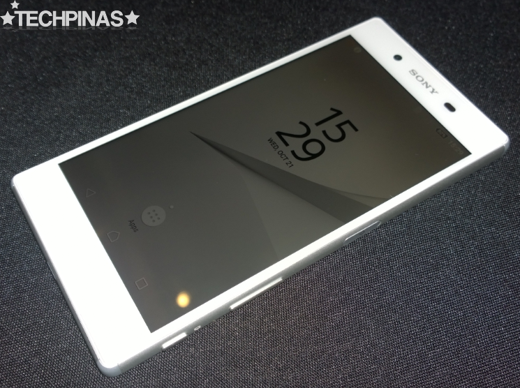 Sony Xperia Z5 In The Flesh, Sony Xperia Z5 Actual Unit