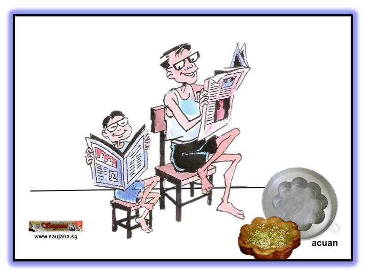 Laman Bahasa Melayu Peribahasa Bagaimana Acuan Begitulah Kuihnya