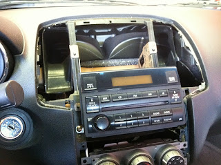 Nissan Maxima Dash Removal For Stereo Install