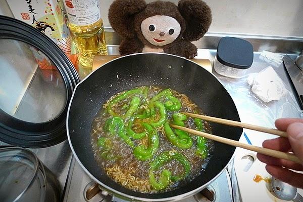 とうがらしの炊いたんの作り方(2)