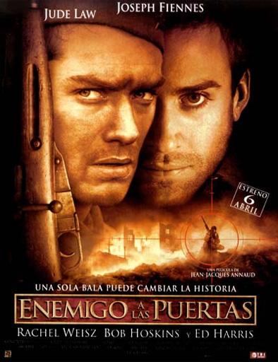 Ver Enemigo a las puertas (Enemy at the Gates) (2001) Online