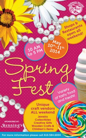 skippack event calender 2014 spring fest
