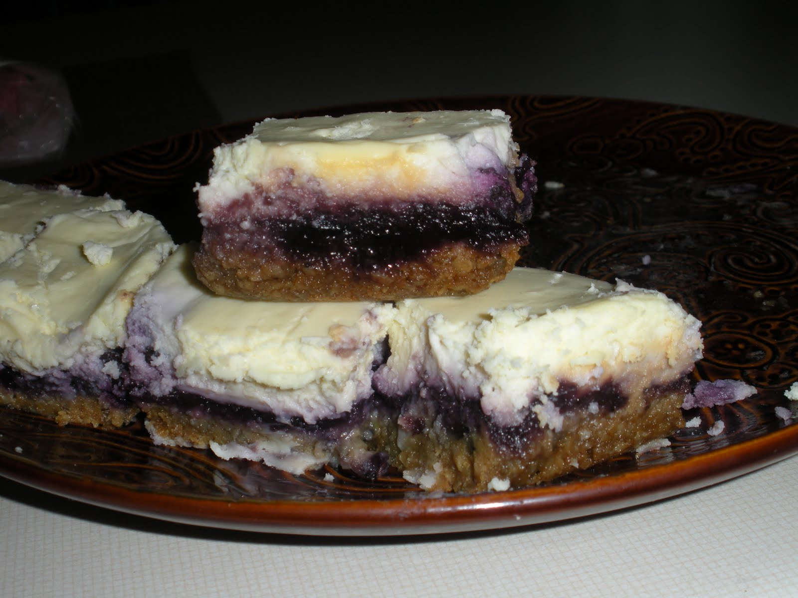 Kimber's Kitchen: Blueberry Cheesecake Bars