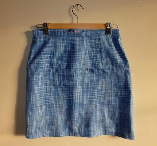 Photo of new me-made Vogue 1247 (V1247) skirt