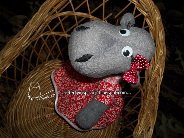 hipopotam jak uszyć